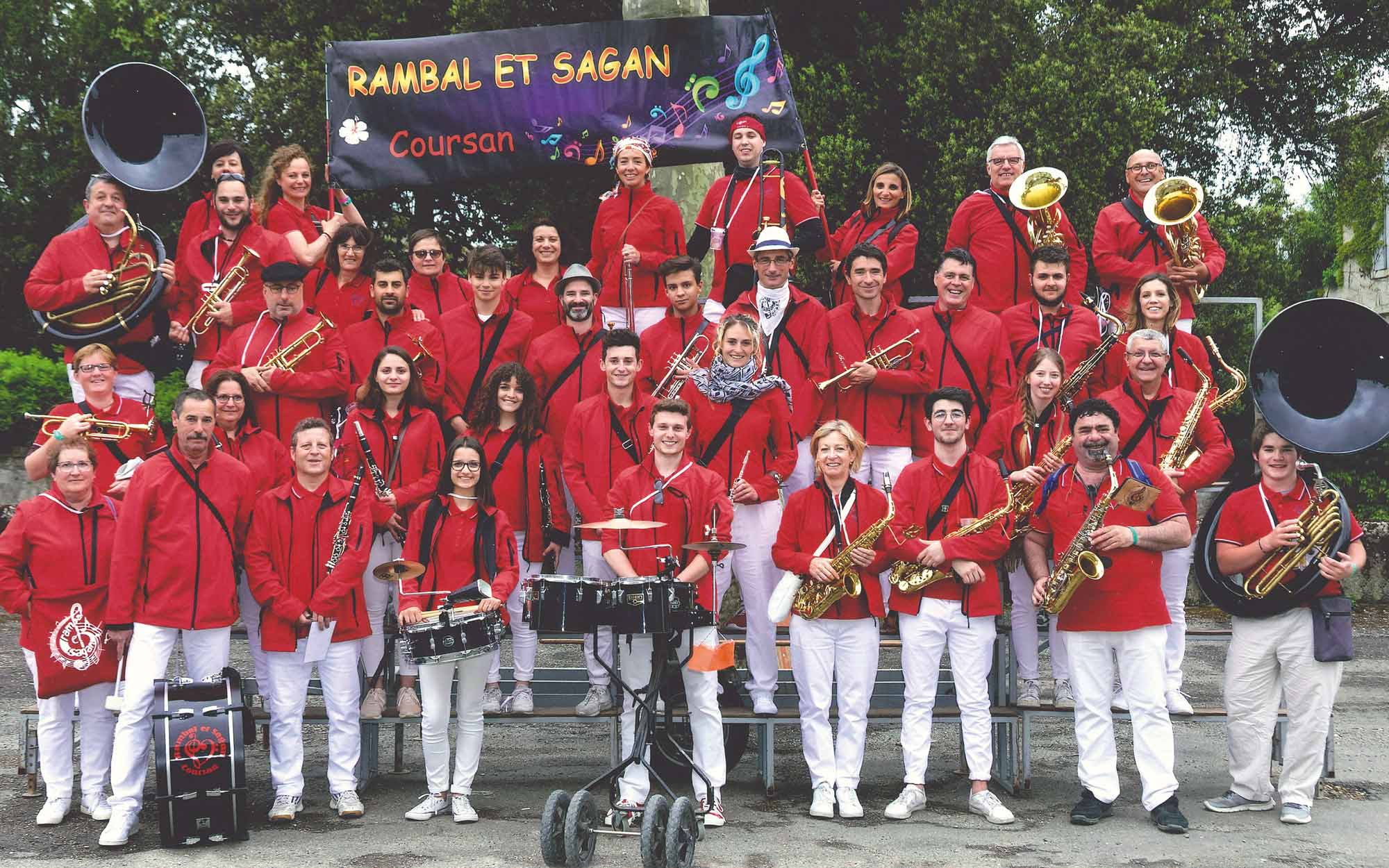 accueil banda Rambal et Sagan